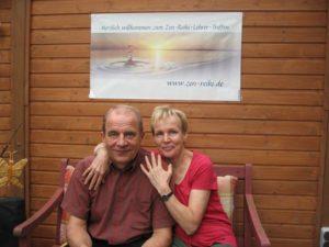 Zen-Reiki-Internetschule: Sylvia und Achim beim Lehrertreff 2013