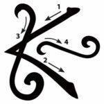 Karuna-Ki-Symbol: Shanti