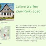 Zen-Reiki Lehrertreffen 2010